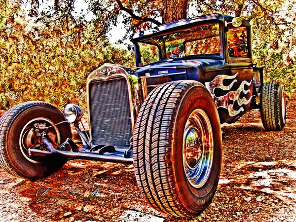 31 ford Rat Rod Pick-Up