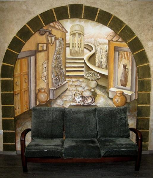 Bas- relief/ Arch.