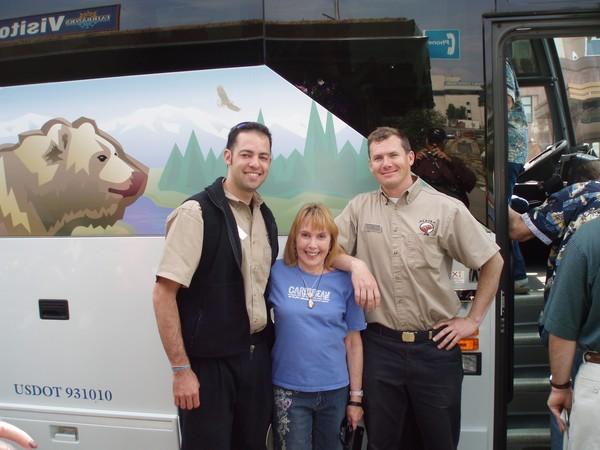 Steve, Me, Tim Fairbanks AK