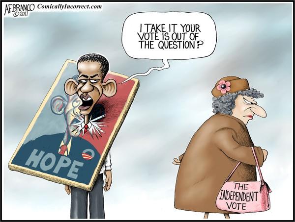 The Independent Vote (Cartoon)