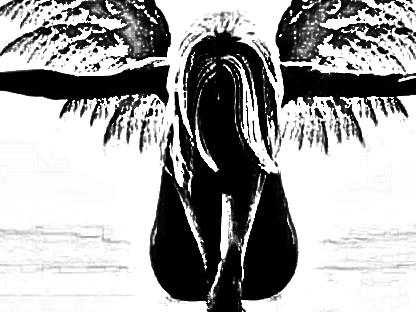 Angel waiting