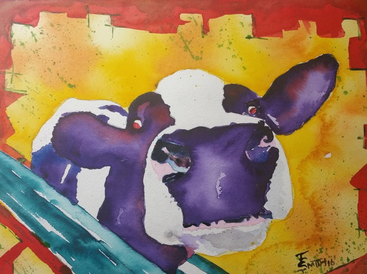 Look Its Another Purple Cow