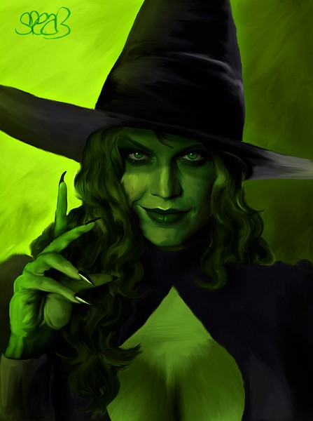 Wicked Witch of the West by Mark Spears