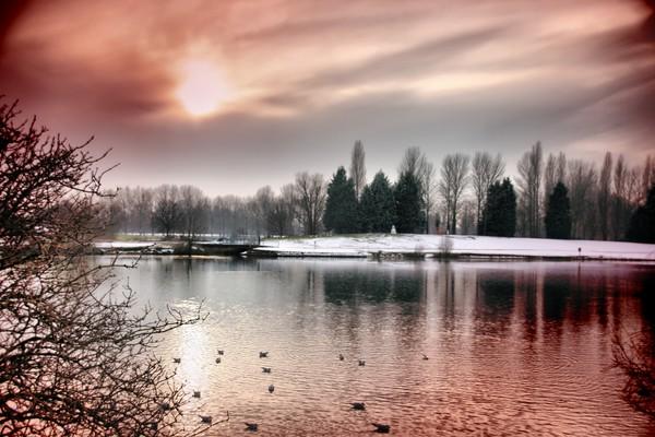 sunset billing lake