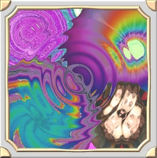 digital water collage