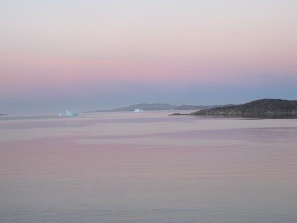 Qaqortoq, Greenland at Dawn