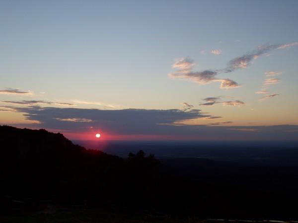 Sunset on Mt. Magazine
