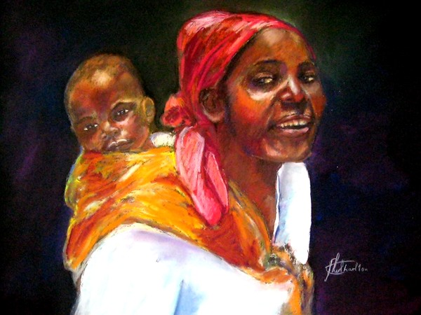 Happy Malawian Mum