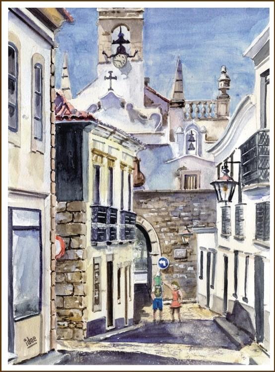 Alley in Algarve