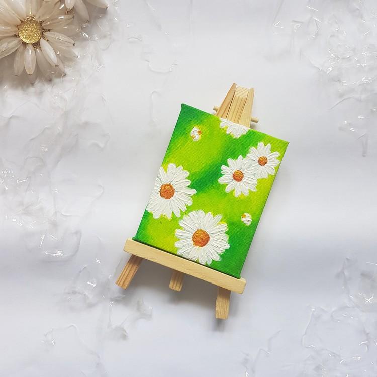daisies in grass