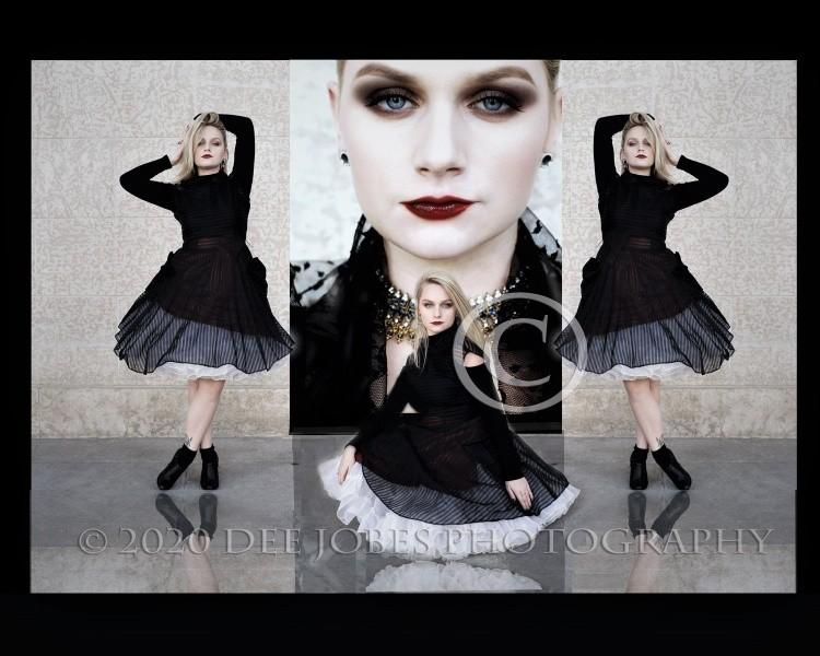 Model Fashion Photo Art