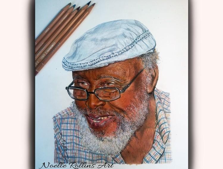 Dauber - colored pencil portrait