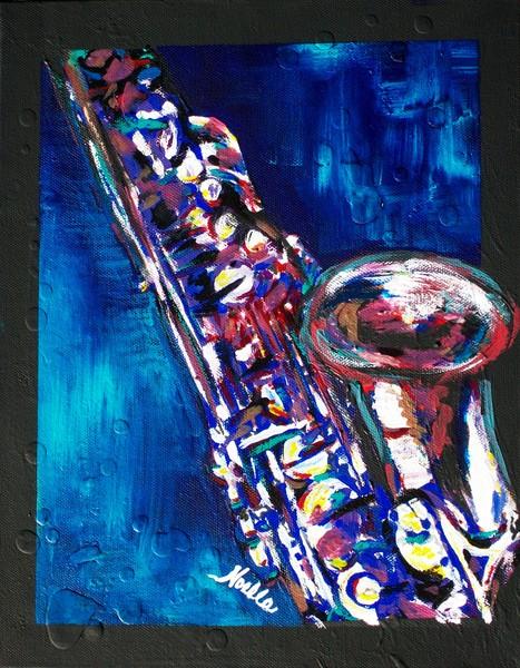 Framed Sax