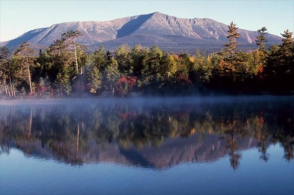Morning at Mount Katahdin