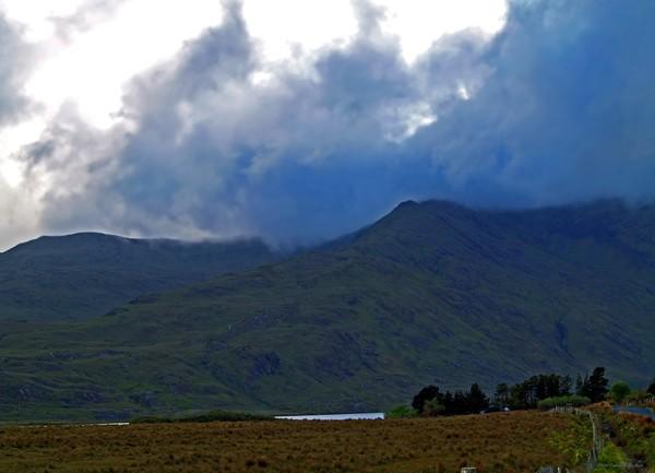 Storm on the Horizon in Connemara