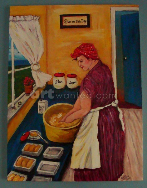 Our Daily Bread 18x24