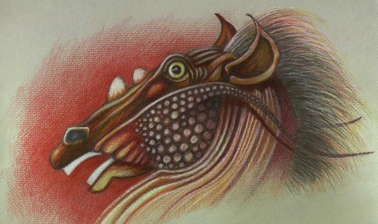 Drachenpferd
