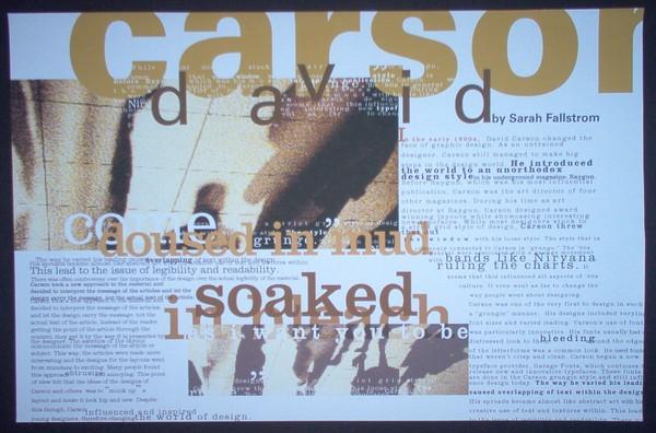 Carson Layout