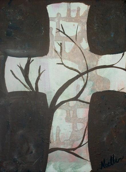 tree and cross