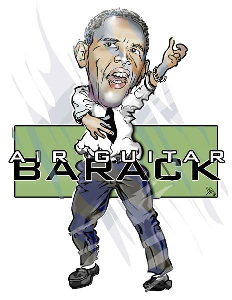 Air Guitar Barack