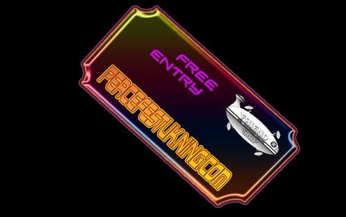 PEACEfestUK virtual free entry ticket