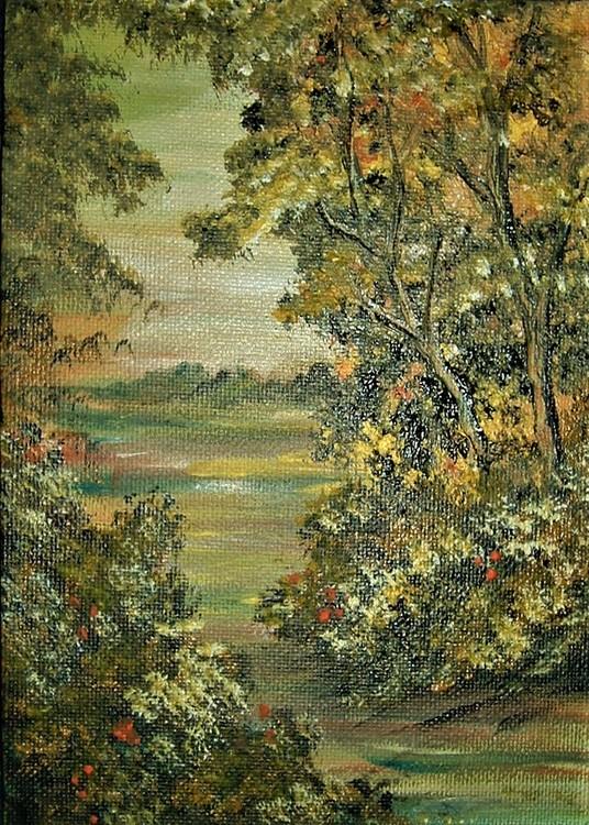 woodland acrylic