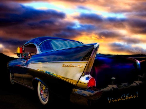 57 Belair Hardtop Cruise is Done