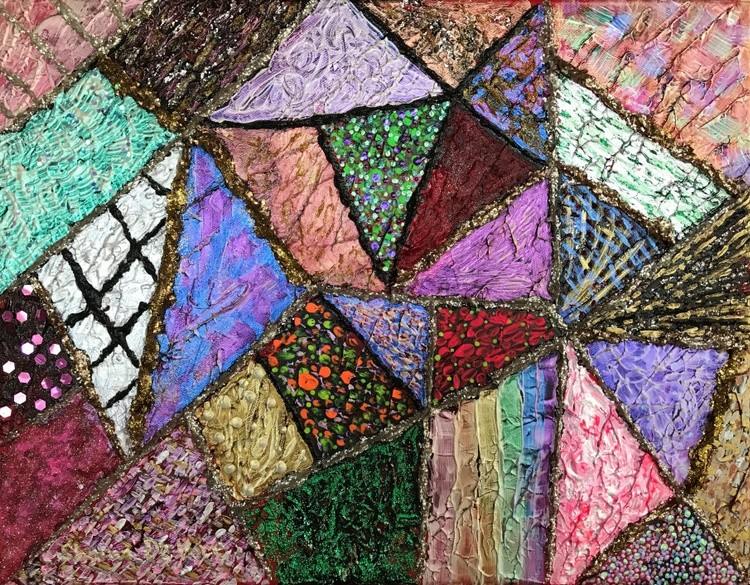 Abstract 14 Patchwork Quilt 7