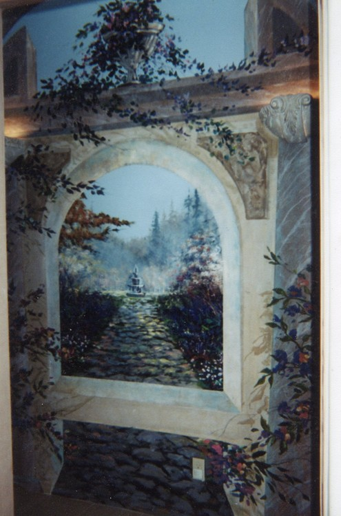 Image 4 Mural Hallway of No Return
