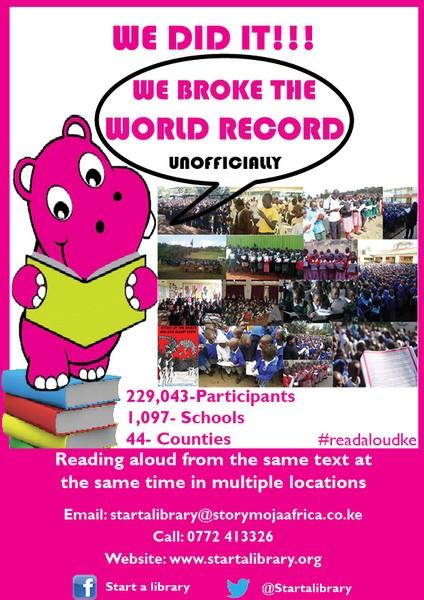 Read Aloud Poster