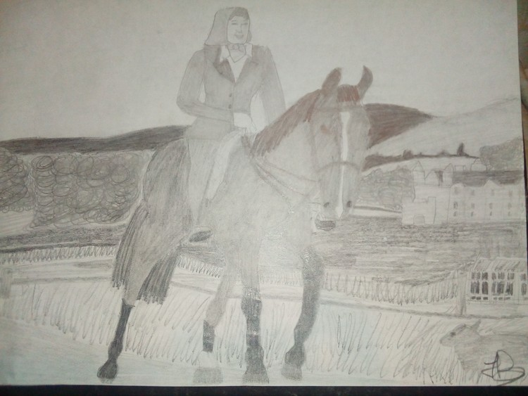 The Lady & The Horse