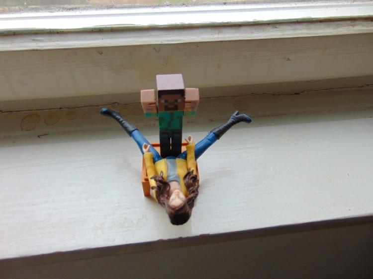 Take me, Lego boy