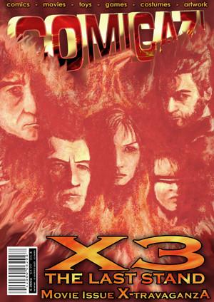 X-Men Magazine Cover