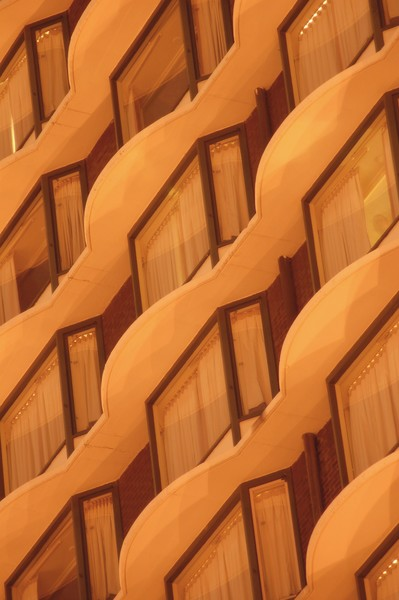 Yellow Architectural Abstract