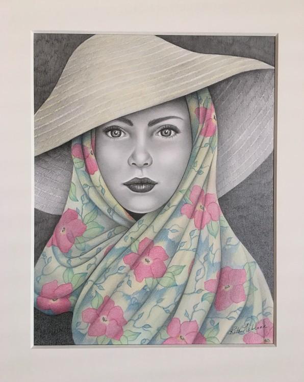Lady in Hat II