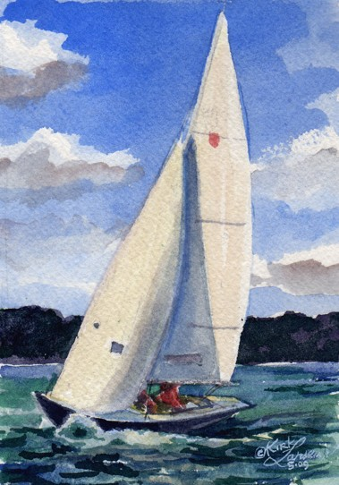 Shields on starboard