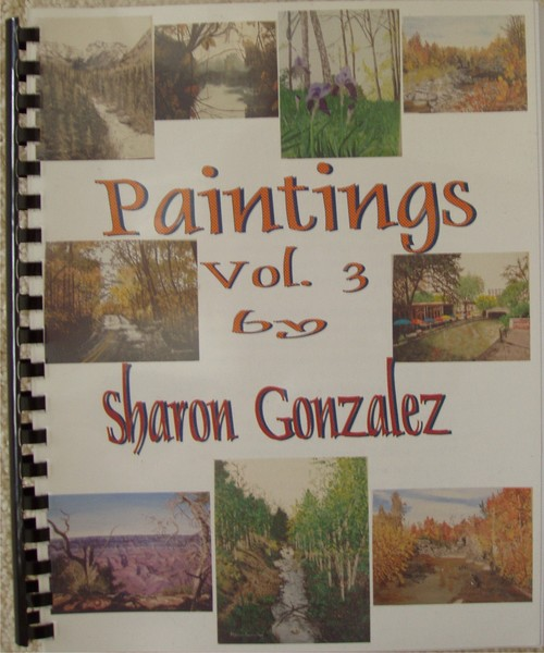 My Paintings Book Vol. 3  Covers