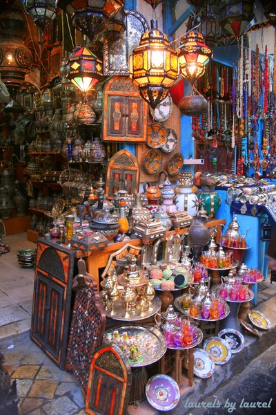 A Shop in the Medina in Tunis