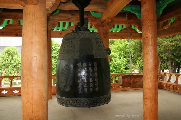 Large Bell inside a Bongeunsa Temple