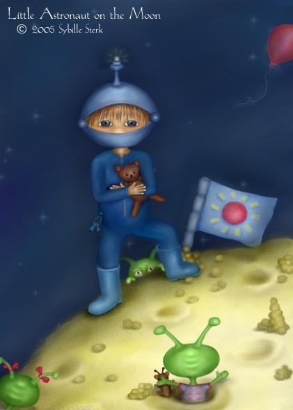 Little Astronaut Part II - The Moon
