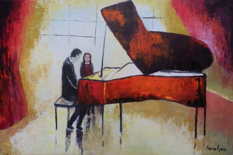 Piano lesson - sold