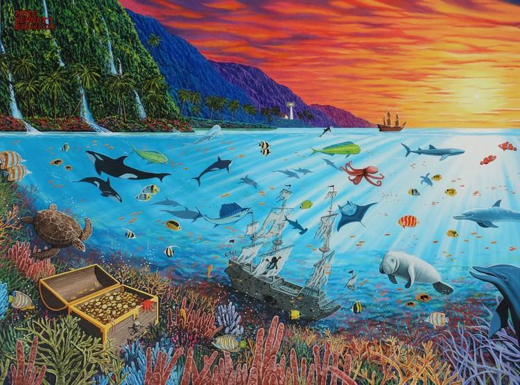 Treasures Beneath the Sea
