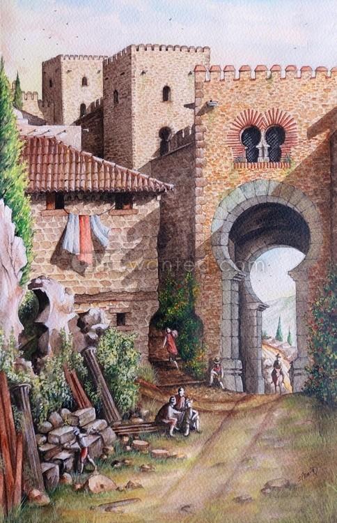 Inside Puerta de Granada c16th century.