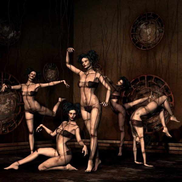 Dancers at the Carnival of Evil