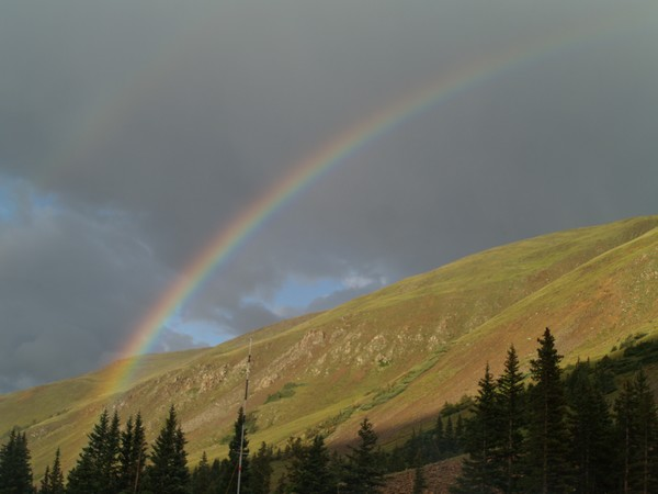 Rainbow at Timberline