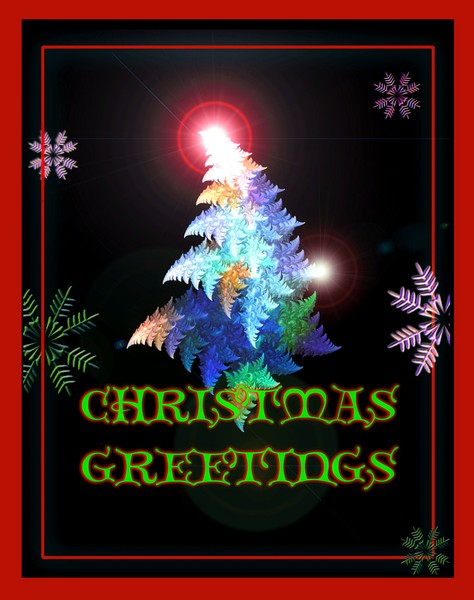 CHRISTMAS CARD DESIGN  #1