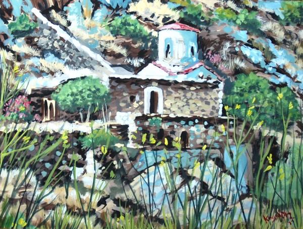 Hagion Galas church of holy Mary 3