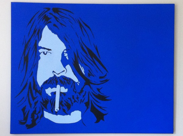 Dave Grohl (Blue)