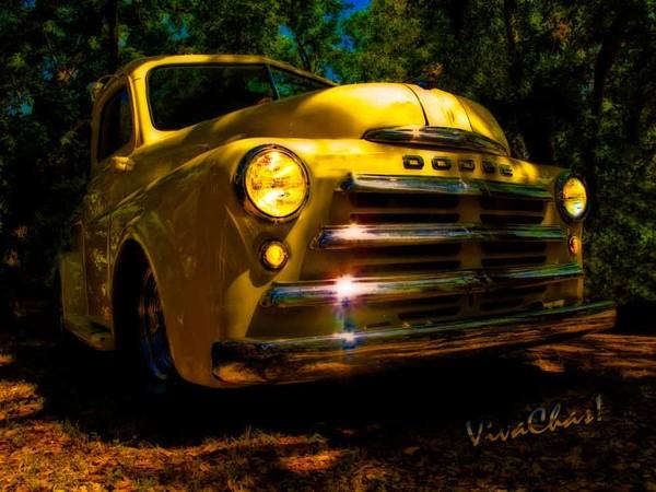 49 Dodge Pickup Grille Magic Hour Glow
