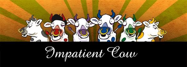 Impatient Cows Branding and Logo